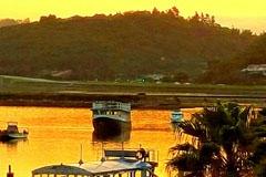 Knysna Lagoon Sunset