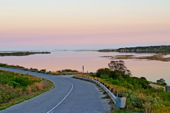 The road to Buffels Bay