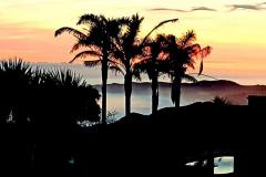 lodge-sunset